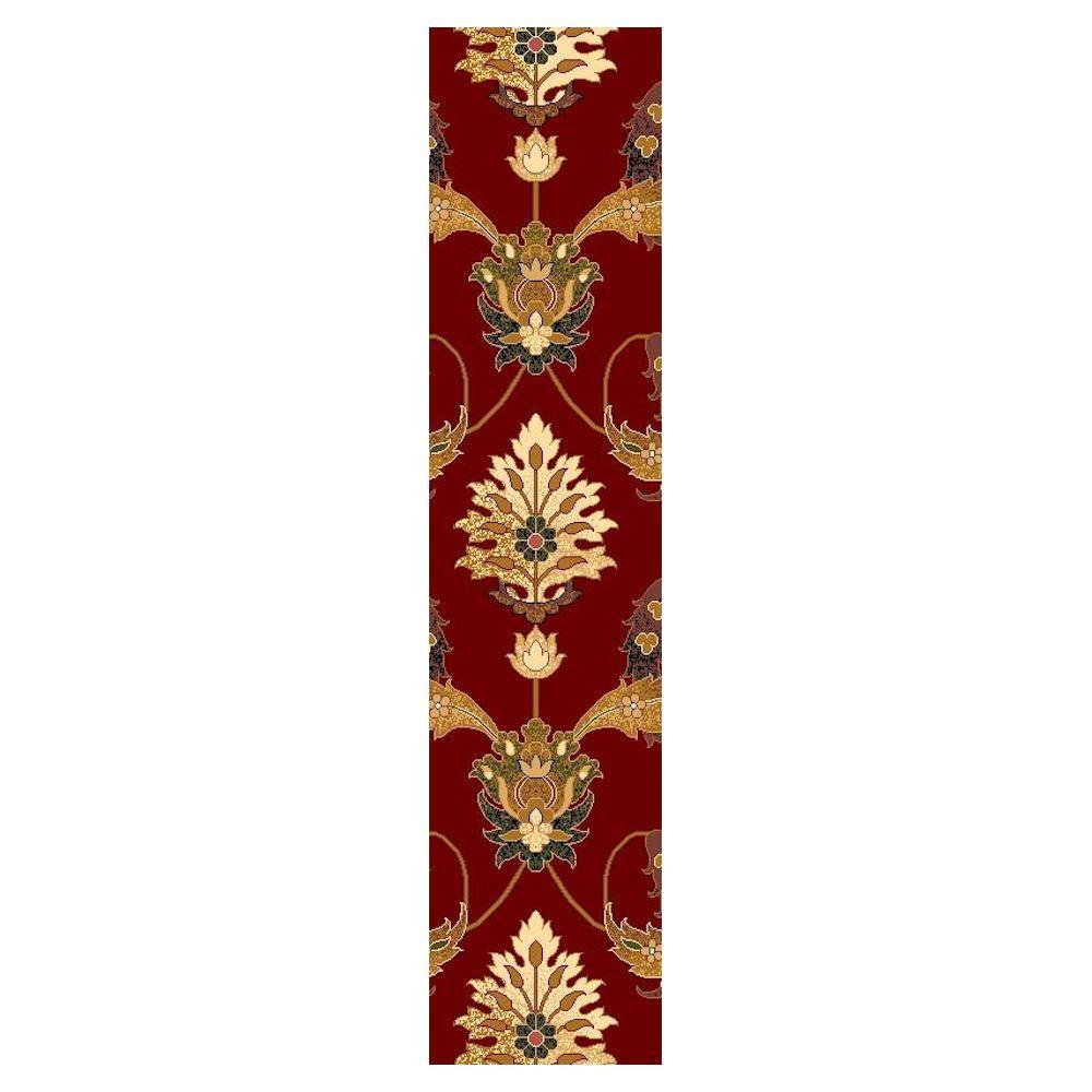 Venetian Red 2 ft. 2 in. x 7 ft. 11 in. Rug Runner