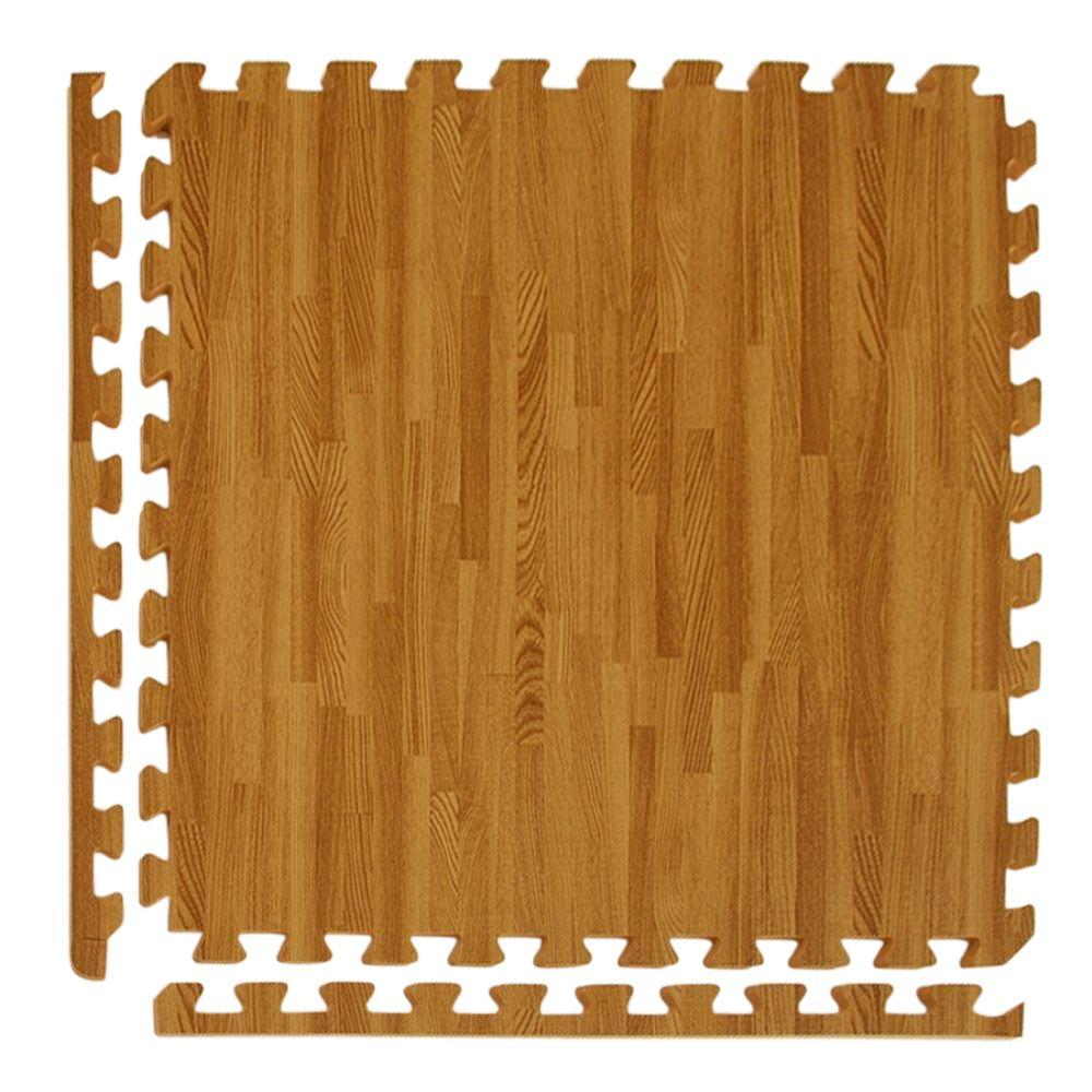 Greatmats Wood Grain Reversible Standard Wood/Tan 24 In. X