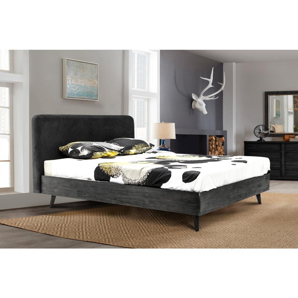 Mohave 4-Piece Acacia Wood Queen Bedroom Set