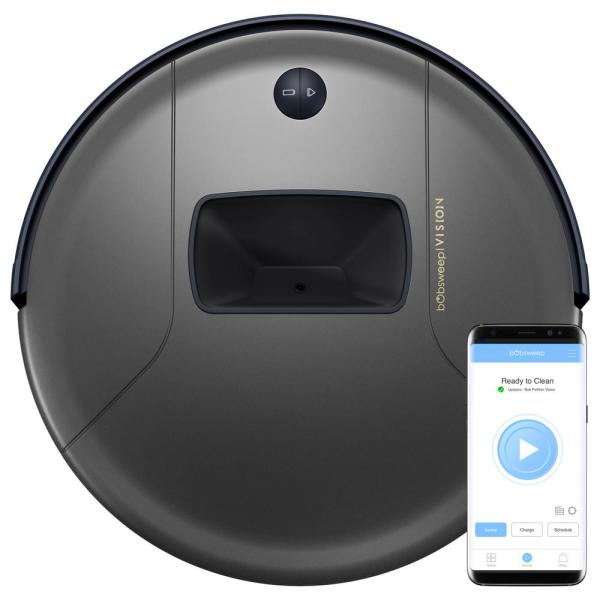 PetHair  Vision Wi-Fi Connected Robot Vacuum Cleaner, Space