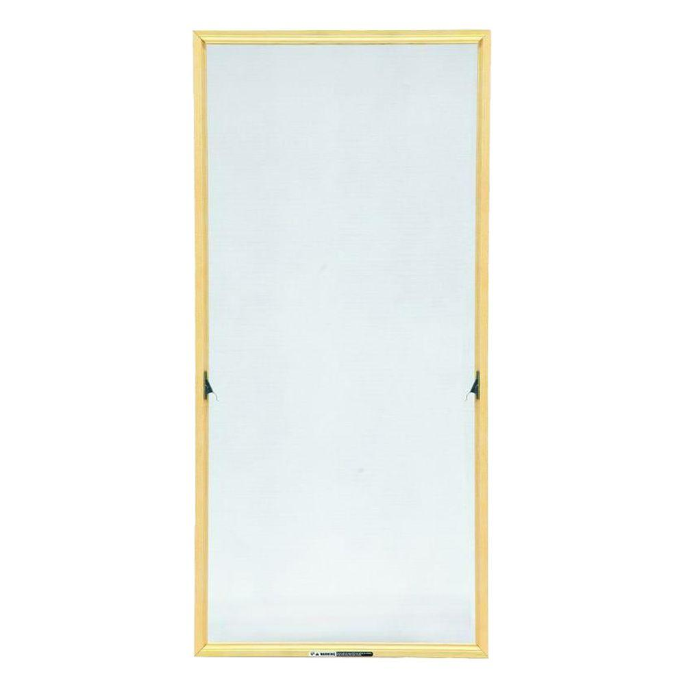Andersen truscene 17 1 16 in x 36 11 32 in wood frame for Andersen casement window screens