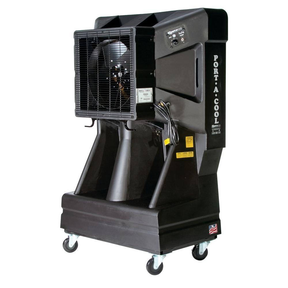 Vertical Tank 3900 CFM 3 Speed Portable Evaporative Cooler For 900