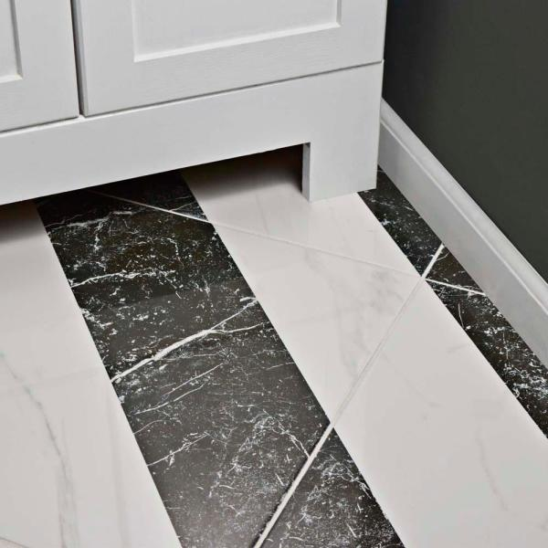 Merola Tile Elegance Luxe 17 3 4 In X 17 3 4 In Porcelain Floor And Wall Tile 11 25 Sq Ft Case Fpe18elx The Home Depot