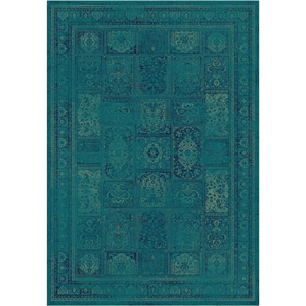 Safavieh Vintage Turquoise/Multi 5 ft. 3 in. x 7 ft. 6 in...