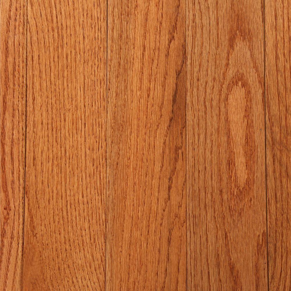 Bruce 3/4 in. Thick x 3-1/4 in. Wide x Random Length Solid Oak Gunstock Hardwood Flooring (22 sq. ft. / case)