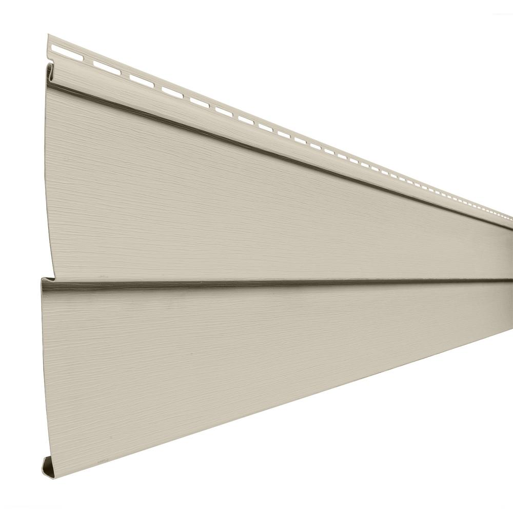 Double 5 In. X 144 In. Sand Vinyl Lap Siding-PC50M4HP