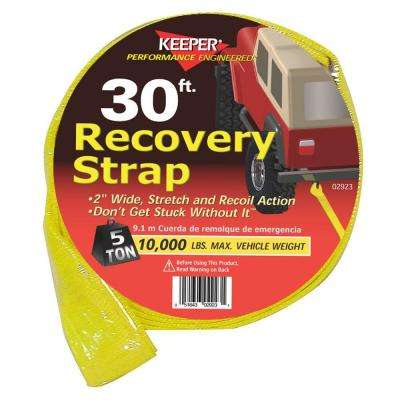 30 ft. x 2 in. x 20,000 lbs. Vehicle Recovery Strap