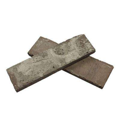 Colonial Collection Little Cottonwood 7.3 sq. ft. 2-1/4 in. x 7-5/8 in. x 1/2 in. Clay Thin Brick Flats (Box of 50)