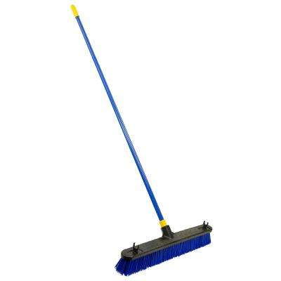 Bulldozer 24 in. Rough Surface Pushbroom (4-Pack)