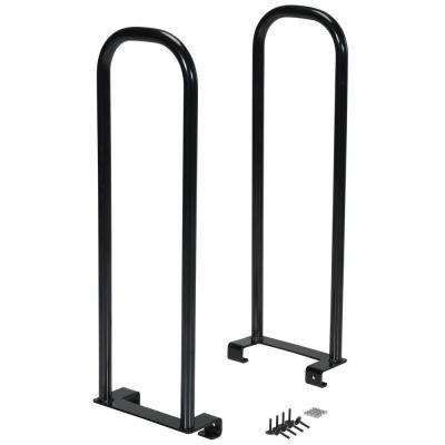 5 in. x 12 in. x 37 in. 250 lb. Steel Dolly Converter Arms