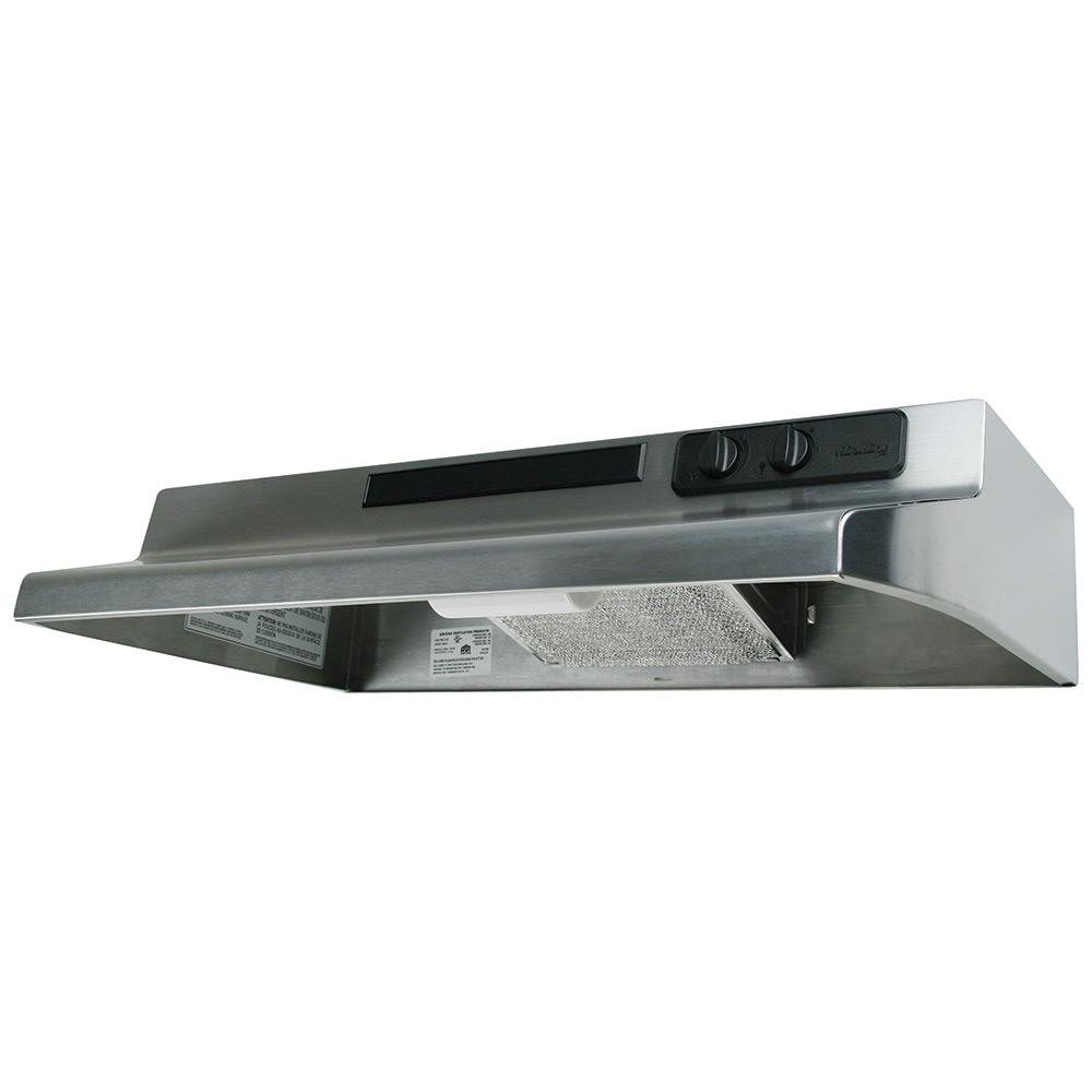 Designer Series 30 In. Under Cabinet Convertible Range Hood With Light In Stainless Steel by Air King