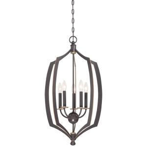 Middletown 5-Light Bronze Downtown Pendant