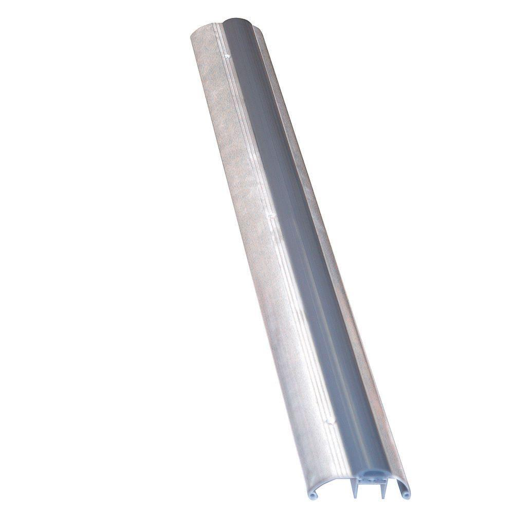 3-3/4 in. x 36 in. Heavy-Duty Aluminum Threshold with Vinyl Hi-Boy