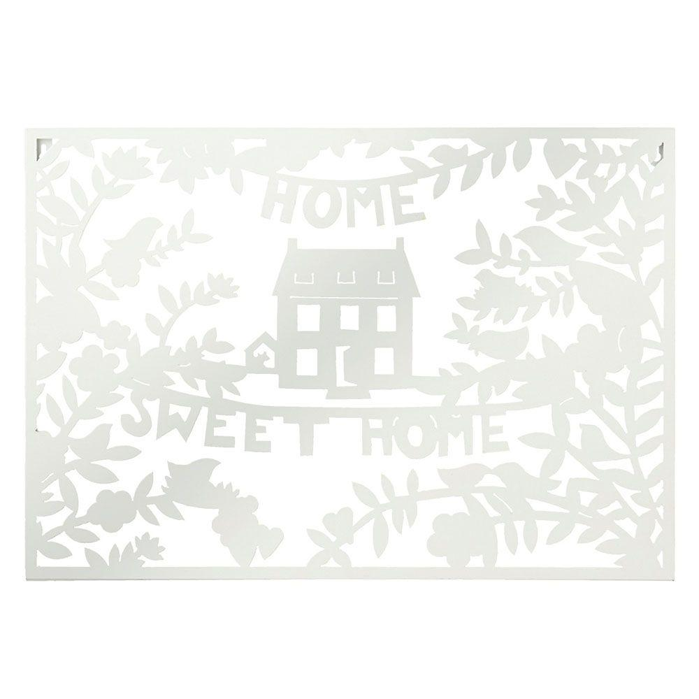 Filament Design Sundry 17.75 in. x 25.5 in. Home Sweet Home Traditional Wall Art-DISCONTINUED
