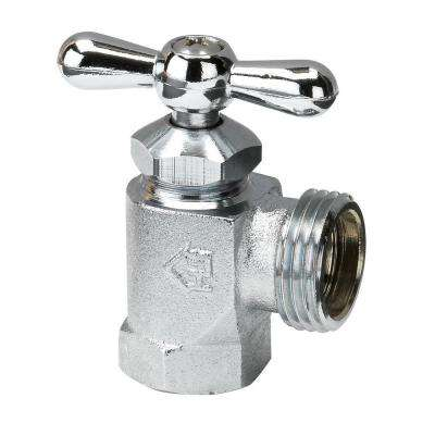 1/2 in. Chrome-Plated Brass Washing Machine Valve