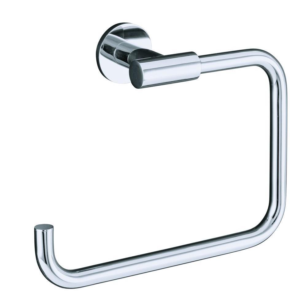 KOHLER Stillness Towel Ring in Polished Chrome