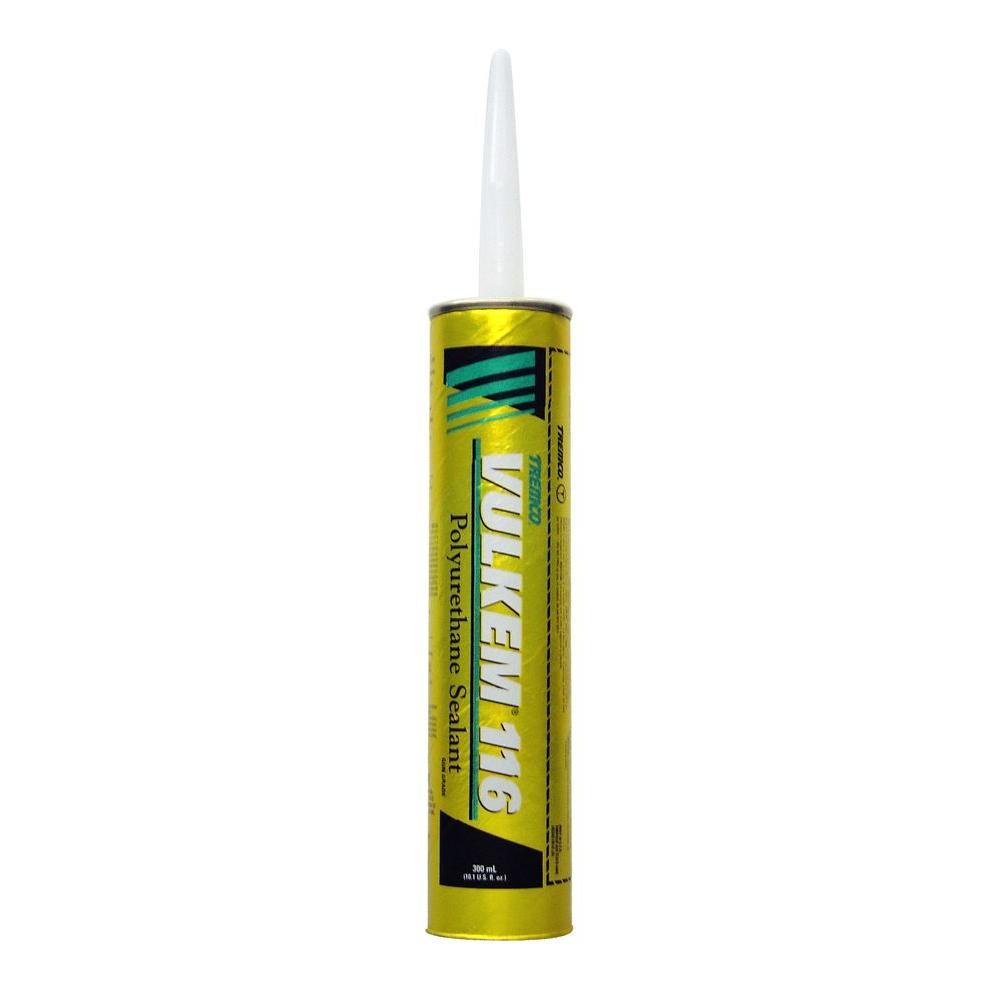 Tremco 10 1 oz gray vulkem 116 polyurethane sealant 7103006 the home depot - Exterior sealant paint decor ...
