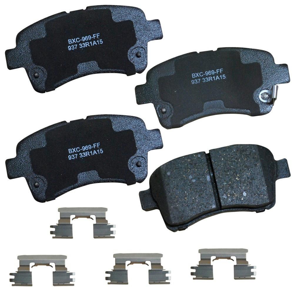 Bendix SBM785 Stop By Bendix Semi Metallic Brake Pads Pair Left Right Pad tw