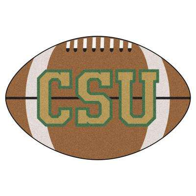 NCAA Colorado State University Brown 1 ft. 10 in. x 2 ft. 11 in. Specialty Accent Rug