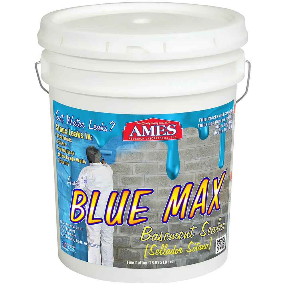 Blue Max 5 gal. Basement Waterproofing Sealer Regular Grade