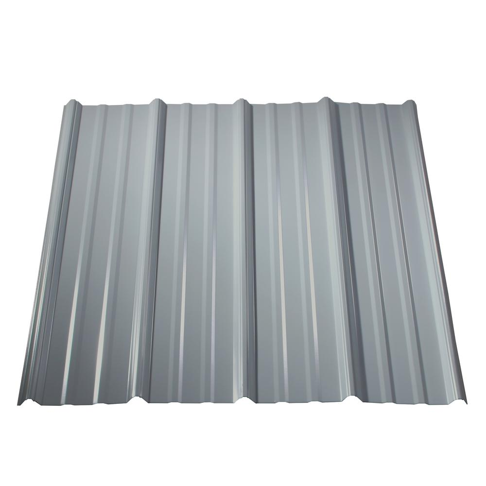 Metal Sales 12 Ft Classic Rib Steel Roof Panel In