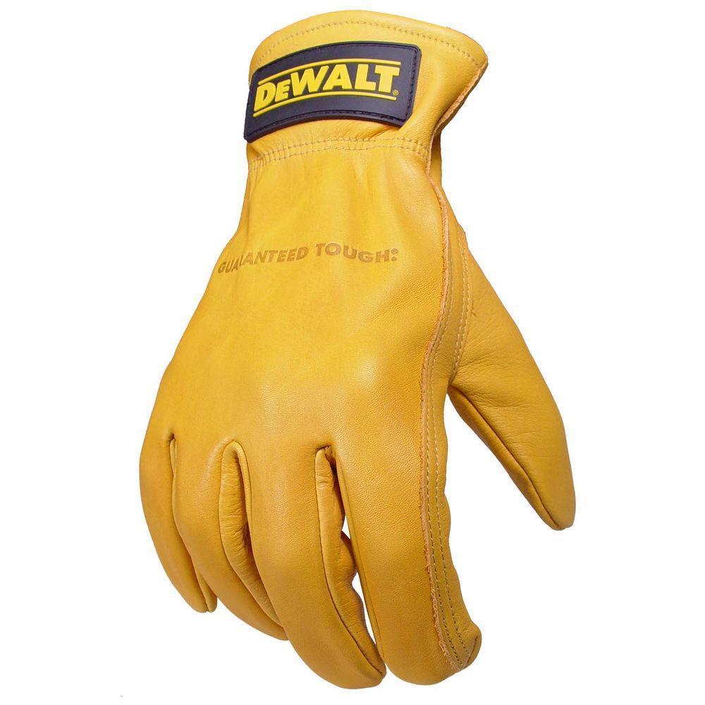 Premium Grain Goatskin Driver Glove - Large