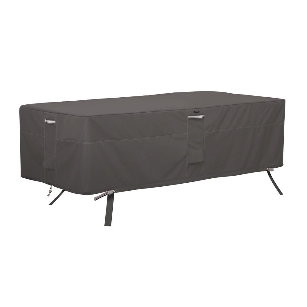 Classic Accessories Ravenna 84 in. L x 44 in. W x 23 in. H Rectangular/Oval Patio Table Cover