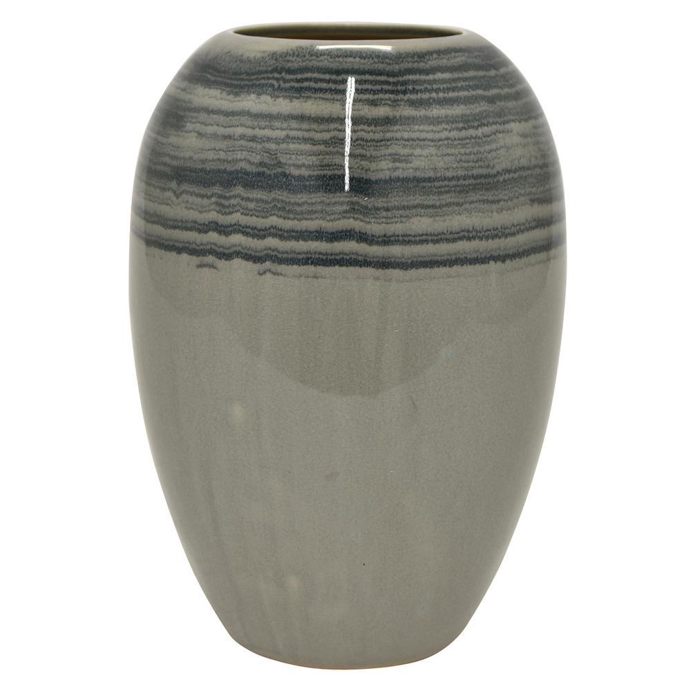 13 in. Ceramic Vase