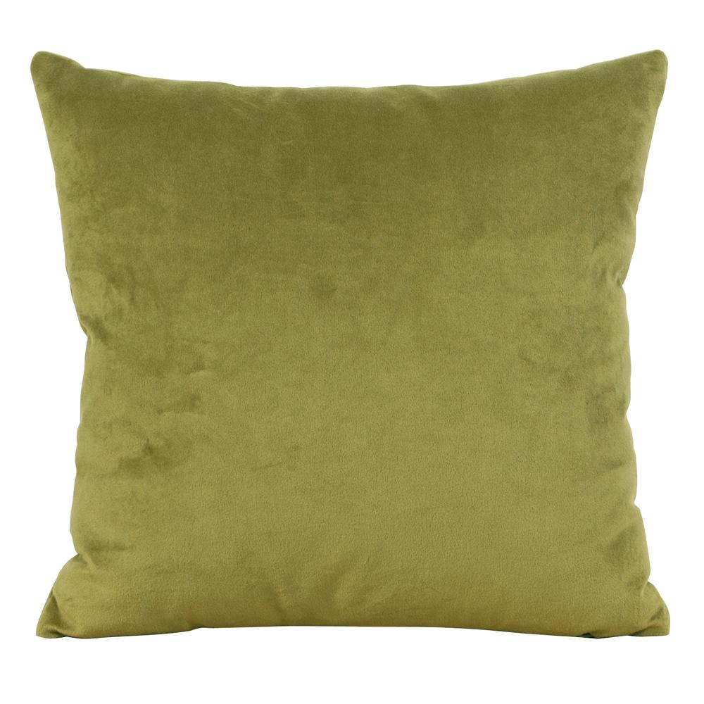 Bella Green Moss 20 in. x 20 in. Decorative Pillow