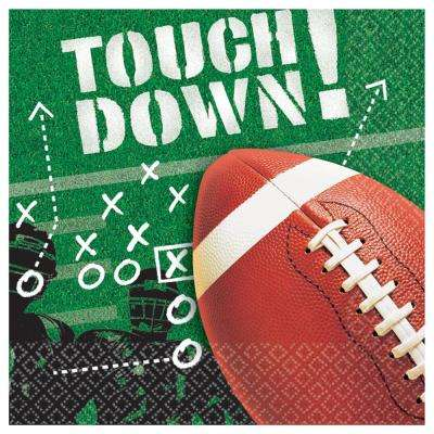 6.5 in. x 6.5 in. Football Frenzy Lunch Napkins