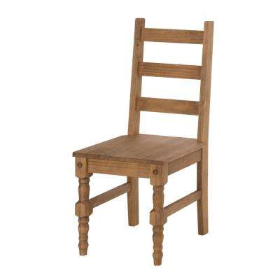 Jay 2-Piece Nature Solid Wood Dining Chair