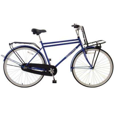 Amsterdam M1 Dutch Cruiser Bicycle, 28 in. Wheels, 19 in. Frame, Men's Bike in Blue