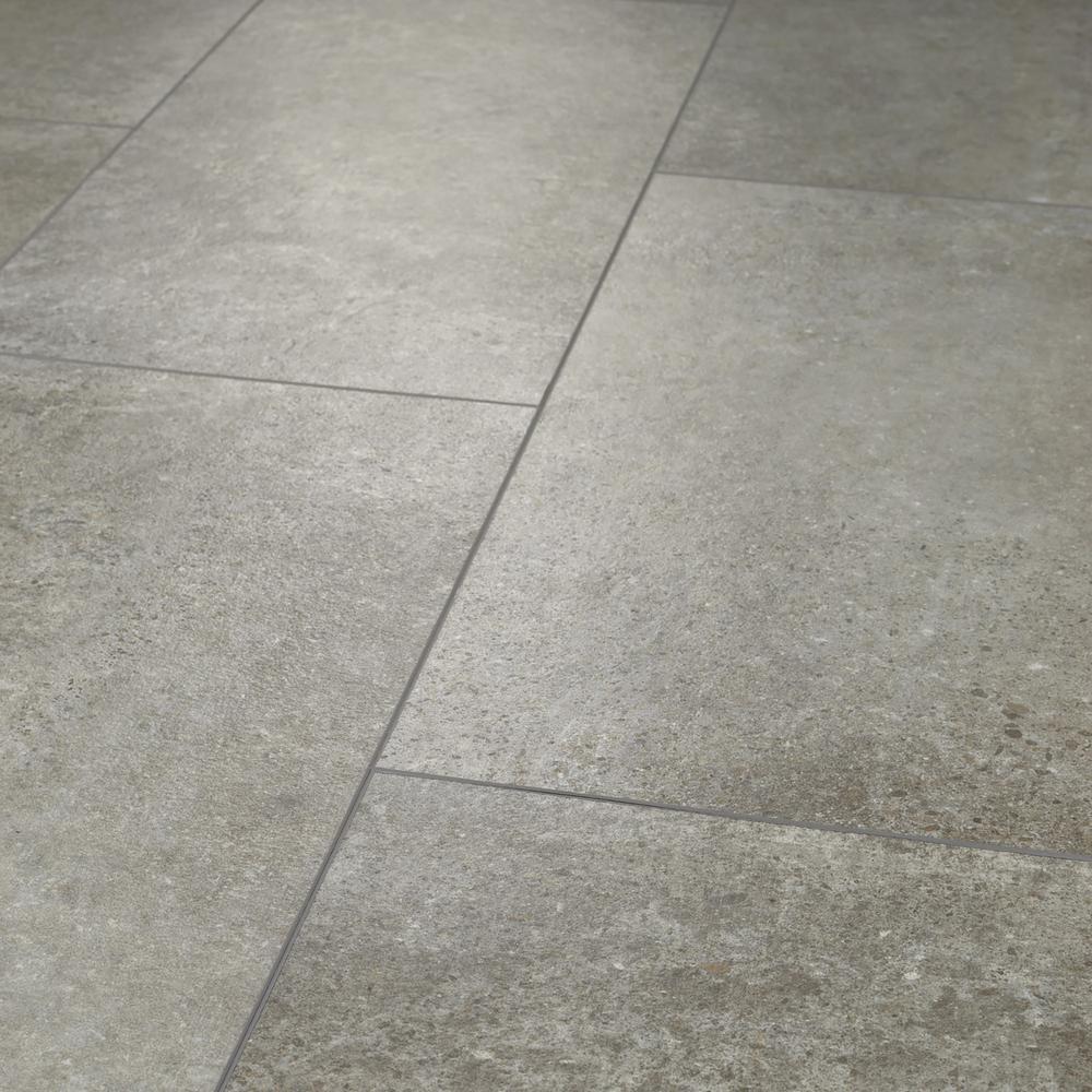 Shaw Vista Atlantic Grey 12 in. x 24 in. Luxury Vinyl Tile (15.83 sq. ft.)