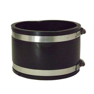 4 in. x 4 in. PVC A.C., Fibre or D.I. to A.C., Fibre or D.I. Flexible Coupling