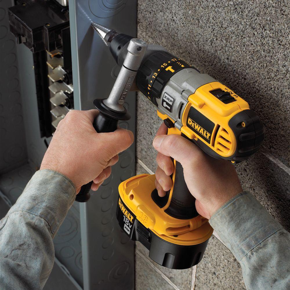 "New Dewalt DCD950KX 1//2/"" 18V XRP Hammer Drill Driver w// 2 Battery Charger Case"