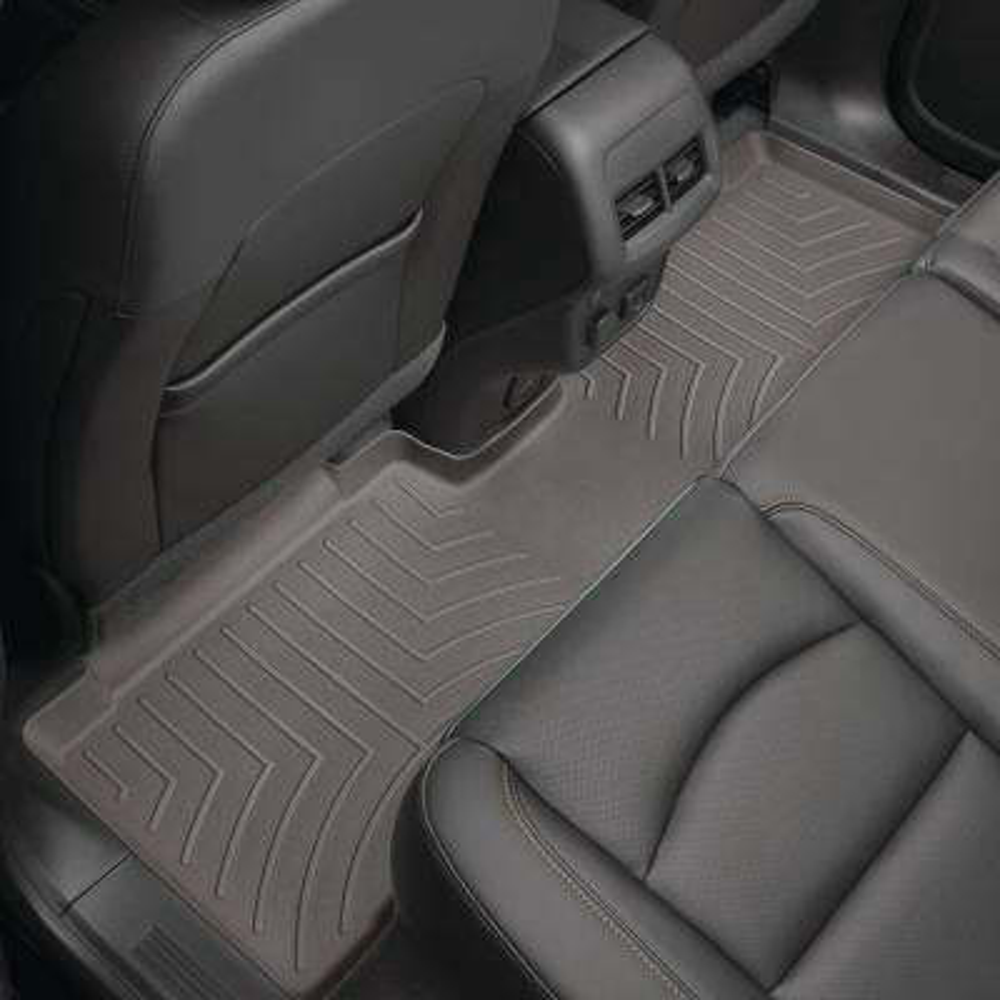 Grey/Rear FloorLiner/BMW/X5/2014 +/
