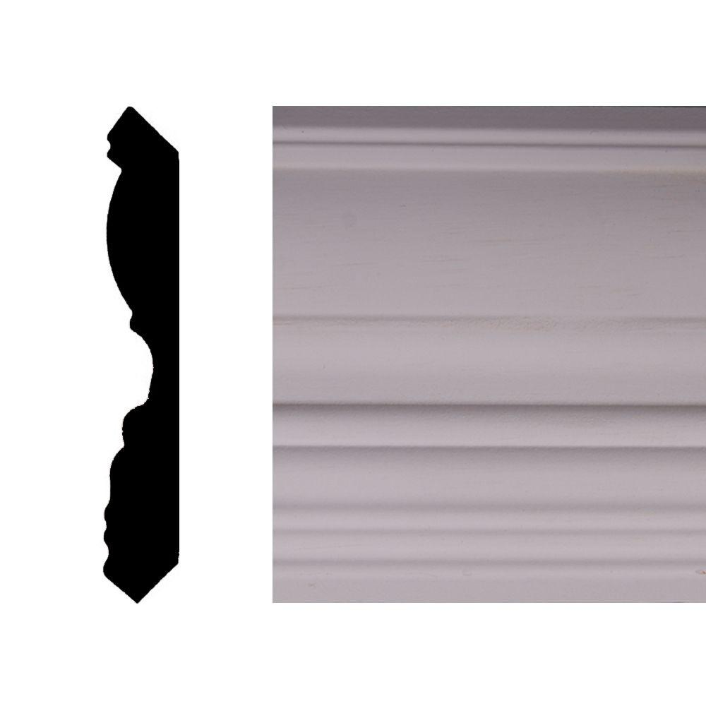 Builder's Choice OP712 11/16 in. x 4-1/2 in. MDF Crown Moulding