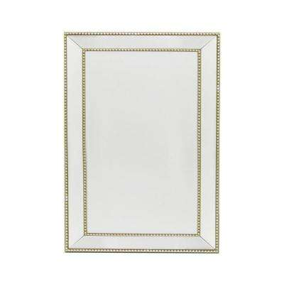 Clearview Champagne Framed Wall Mirror
