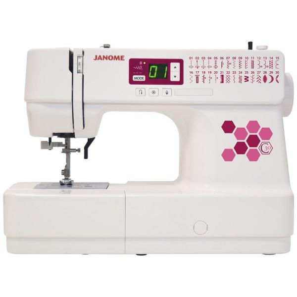 Janome C30 30-Stitch Computerized Sewing Machine 001C30