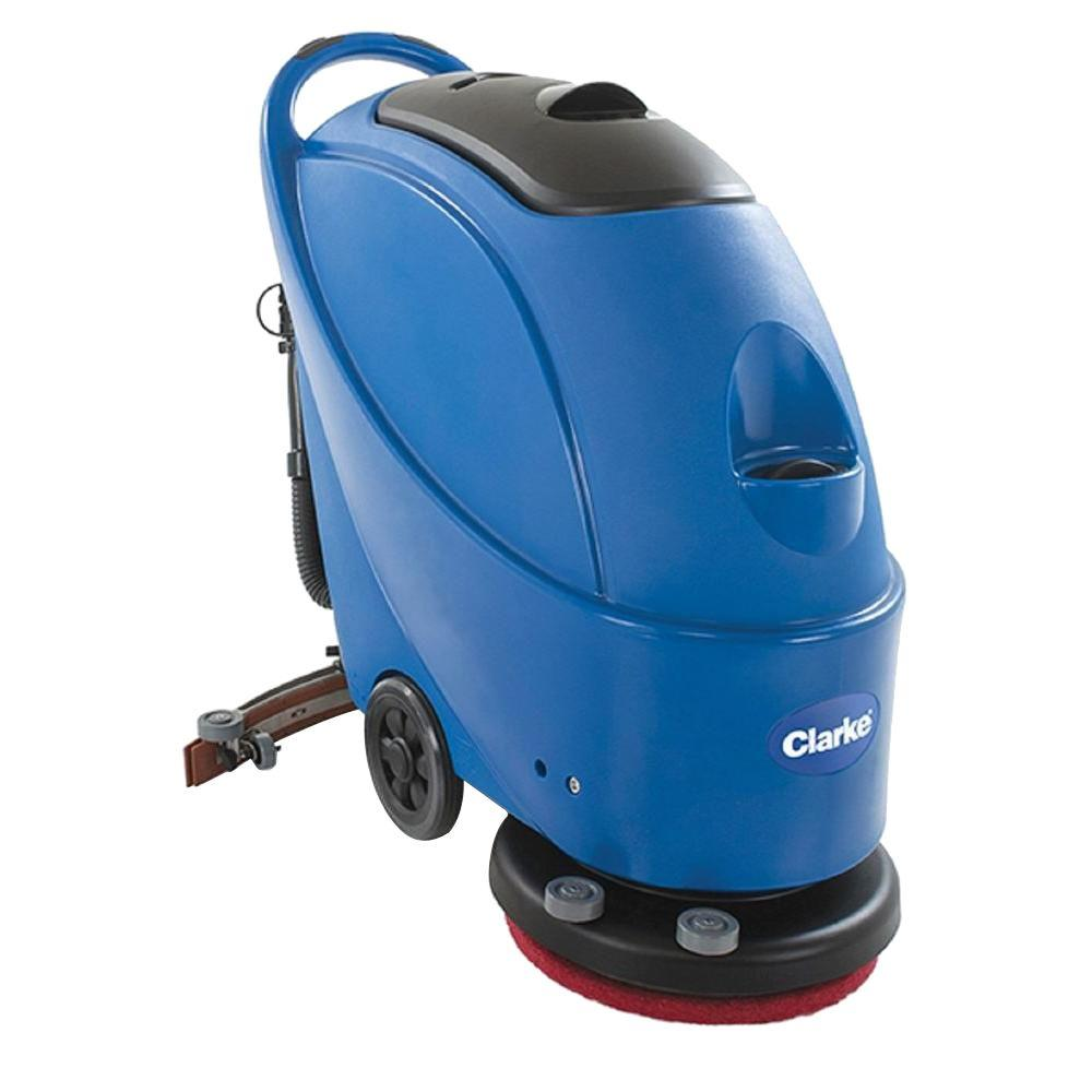 Floor scrubbers polishers hard surface cleaners the home depot clarke430c cord 17 auto scrub nups dailygadgetfo Image collections