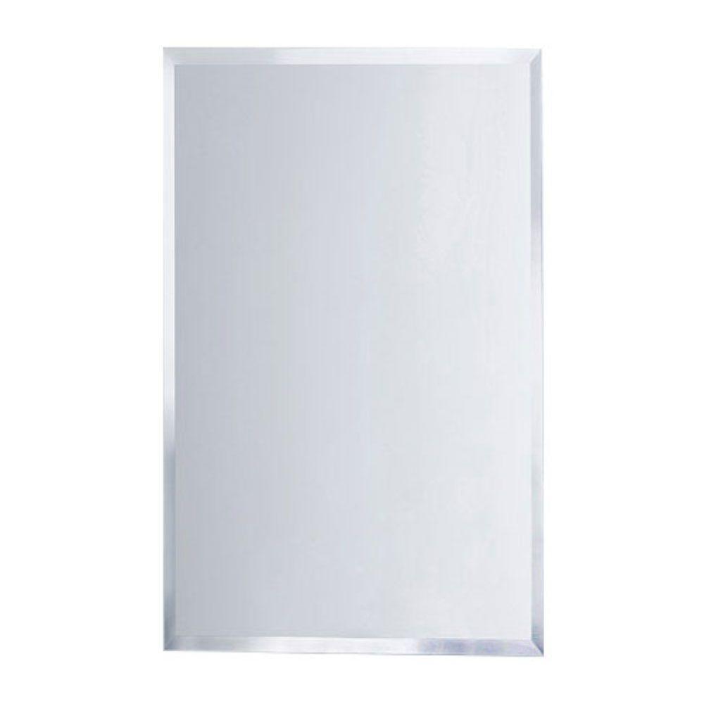 Deco Mirror 16 In W X 26 In H X 5 In D Framed Single