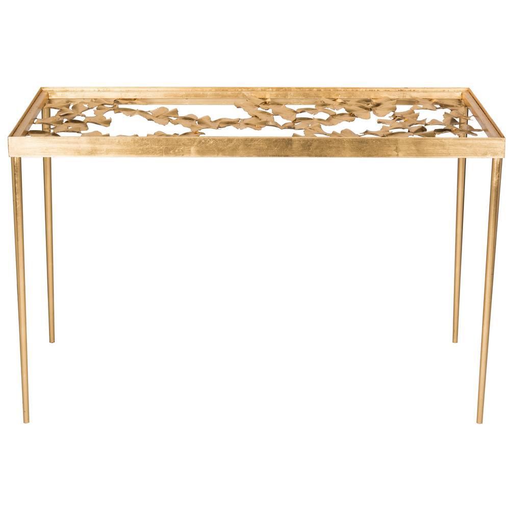 Otto Gold/Clear Desk