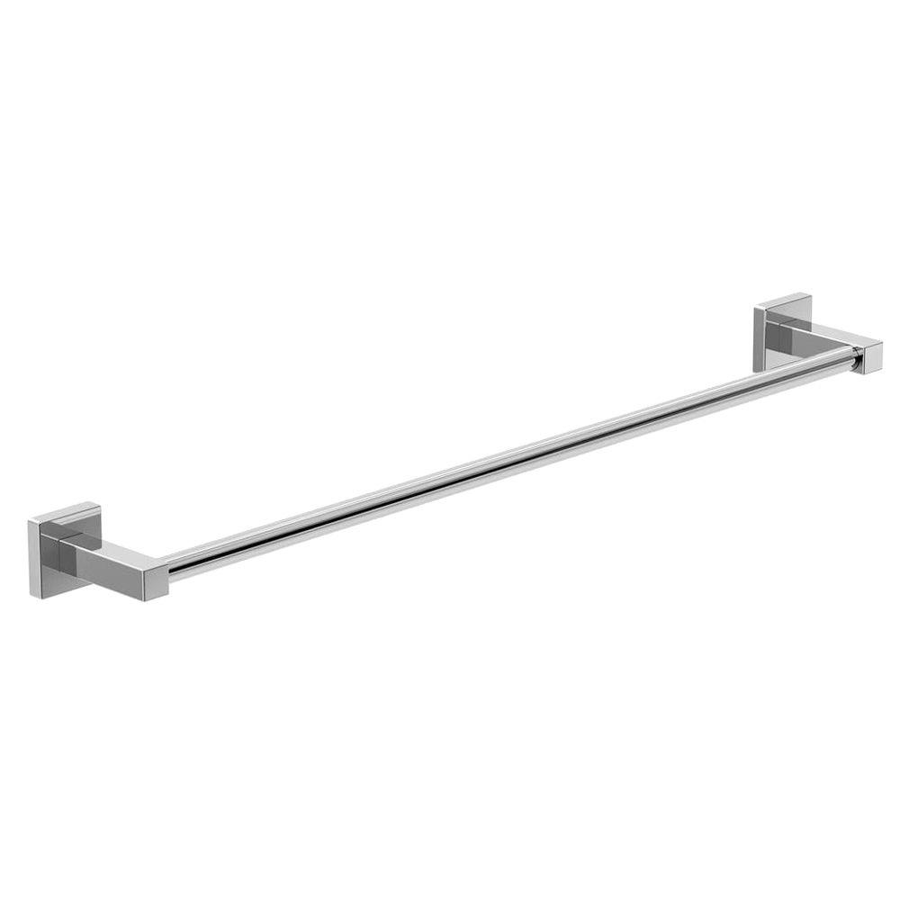 Symmons Duro 18 in. Towel Bar in Chrome-363TB-18 - The Home Depot