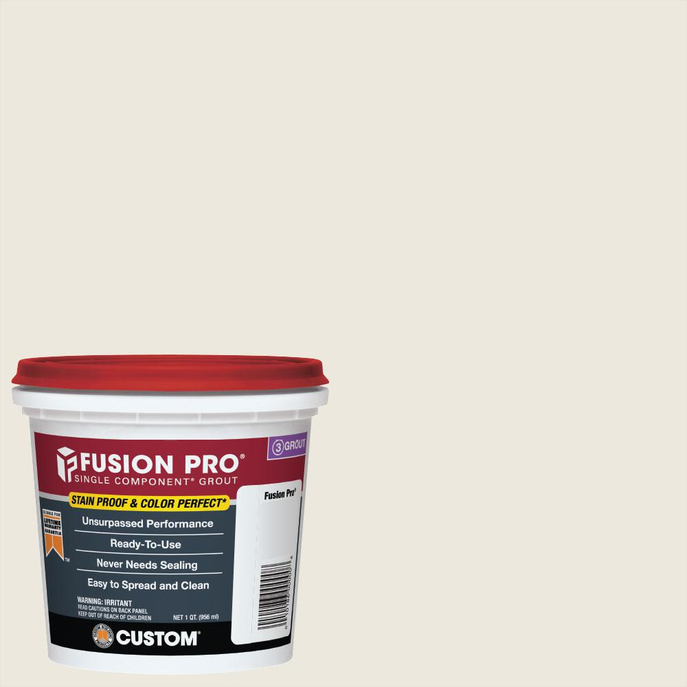 Custom Building Products Fusion Pro #381 Bright White 1 qt. Single Component Grout