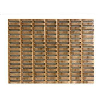 Beige 3 ft. x 16.5 ft. PVC Open Grid Safety and Comfort Runner