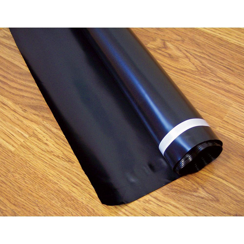 2-1/2 ft. x 40 ft. 6 mil Polyethylene Film - Moisture Barrier and Vapor Barrier Underlayment for All Floors