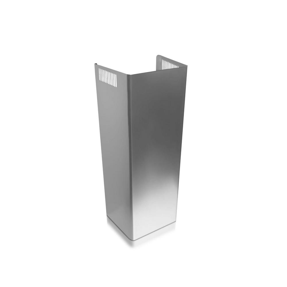 Ge 10 Ft Ceiling Duct Cover Kit In Stainless Steel