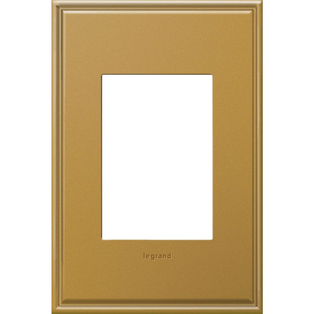 Legrand adorne 1-Gang 3 Module Wall Plate - Antique Bronze with ...