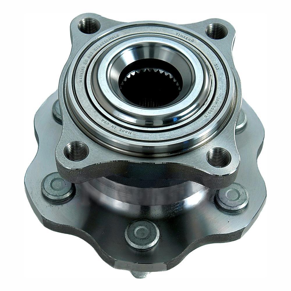 Timken Rear Wheel Bearing and Hub Assembly fits 2005-2012 Nissan Pathfinder