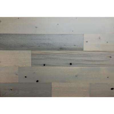 Driftwood 5 in. Peel and Stick Wall Applique Panels (20 sq. ft./Box)